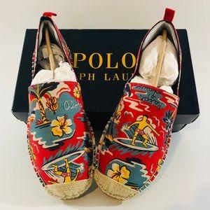Polo Ralph Lauren Men's Floral Barron Espadrille